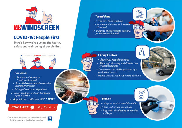 Mr Windscreen Covid-19 People first